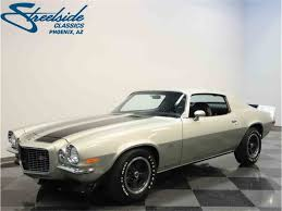 1972 chevy camaro z28 for sale 1972 chevrolet camaro for sale on classiccars com 20 available