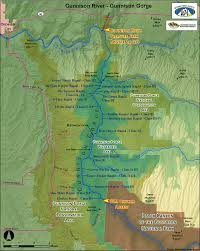 Blm Maps Colorado by Rafting In Colorado The Gunnison River Whitewater Rafting
