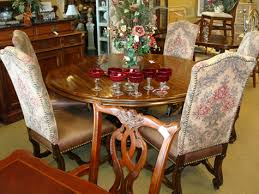 Heritage Dining Room Furniture Amusing Drexel Heritage Dining Table And 6 Chairs 72 About Remodel