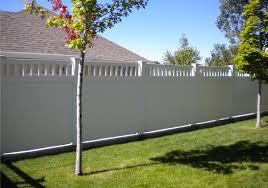 simple diy vinyl fencing panels u2014 bitdigest design