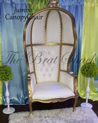 baby shower chair rentals canopy chair for rent the brat shack party store
