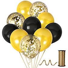 gold balloons gold balloon 12 clear gold confetti balloons