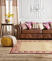 Leather Sofa Fabric Cushions by Wonderful Leather Sofa Cushions With Fix Flattened Down Leather