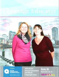 happy thanksgiving our teachers at the actfl convention in