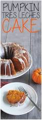 pumpkin tres leches cake with coconut glaze growing up bilingual