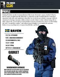 Rainbow Six Siege Operators In Rainbow Six Siege Operator By Jrl5 On Deviantart