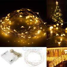 warm white string fairy lights 50 led 5m copper wire twinkle light warm white string fairy lights