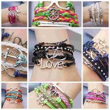 multi bracelet images Fashion bracelet heart bright multi bracelets ashion jewelry jpg