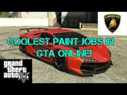 7 coolest color shift paint jobs in gta online youtube