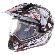 camo motocross helmet fxr torque x squadron camouflage helmet with electric shield