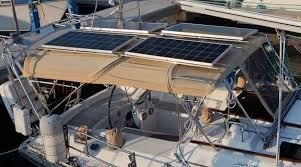 Sailboat Sun Awnings Setsail Fpb Blog Archive Mounting Solar Panels On Dodgers And