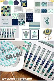 mint and navy crib bedding navy blue and mint nursery baby boy