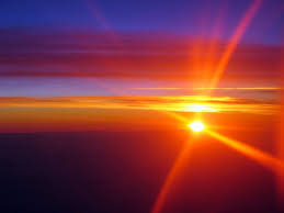 sunsets sunrays red high sunset plane orange colours sky nature