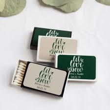 wedding matchbooks personalized wedding matchboxes