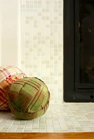 mosaic tile fireplace modwalls fresh tile in colors you crave