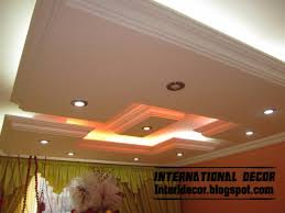 roof decoration home decor ideas classic gypsum plaster roof in spanish designs
