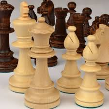 amazon com staunton no 5 tournament chess pieces w wood box by