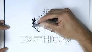 fathom logo sketch youtube