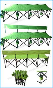 Double Seat Folding Chair Bench Camping Bench Seats Folding Table Bench Seats White X