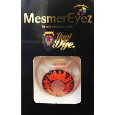 mesmereyez volturi vampire contact lenses 1 day fancy dress accessorie