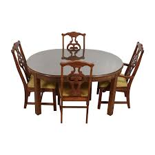 Wood Dining Room Tables And Chairs by Dining Sets Used Dining Sets For Sale