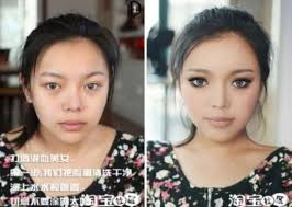 you will see the magic of makeup and the ability of asian people have in transform