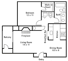 1 bedroom 700 sq ft house plans expand kitchen into dining room