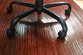 office floor mats and bamboo chair mat office floor mat wood