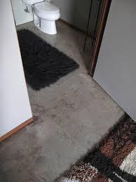 Concrete Floor Bathroom - polished concrete floors for troy u0027s eichler house new radiant