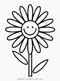 flower coloring worksheets kindergarten and kids can lean about