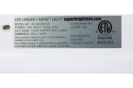 maximum wattage for light fixture dimmable under cabinet led lighting fixture w rocker switch 16 5