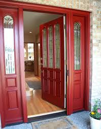 Exterior Door Color Combinations What Colors Go With Yellow Brick 1960s House Exterior Color