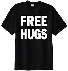 amazon com free hugs t shirt clothing