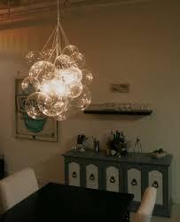 Glass Bubble Chandelier Diy Glass Chandeliers Bubble Chandelier By Mint Love Social Club