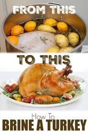 how to brine a turkey what is a brine brine recipe for turkey