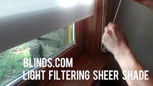 light filtering sheer shades brighten up north carolina log cabin