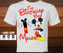 mickey mouse birthday shirt digital mickey mouse birthday shirt diy mickey mouse iron on