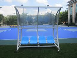 Portable Sports Bench Outdoor Portable Curved Frame Substitute Bench Team Shelters Buy