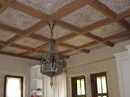 Tin Ceiling Tile For A Backsplash  Cleaning Faux Tin Ceiling Tiles - Tin ceiling backsplash