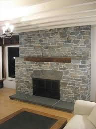 stack stone fireplace dry stack stone stacked stone fireplace es
