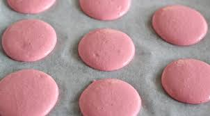 french macarons with raspberry buttercream