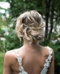 wedding flower hair boho gold hair halo hair vine flower hair crown grecian gold
