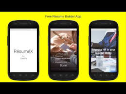 Free Resume Builder App Resumex Free Resume Builder Android Apps On Google Play