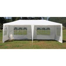 white gazebo outdoor portable gazebo marquee tent in white 3x6m buy 3x6m