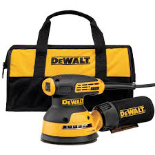 Wood Floor Sander Rental Home Depot by Dewalt 3 Amp 5 In Corded Variable Speed Random Orbital Sander
