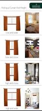 curtains hanging curtains high and wide designs decor psa hang