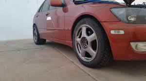 lexus is200 tires new tire wheel setup supra wheels nt05r re71r lexus is forum
