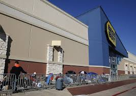 black friday 2017 sales lines at best buy already begun daily