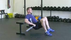 Leg Raise On Bench Exercises Using A Bench