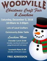 christmas craft fair u0026 luncheon at community centre woodville